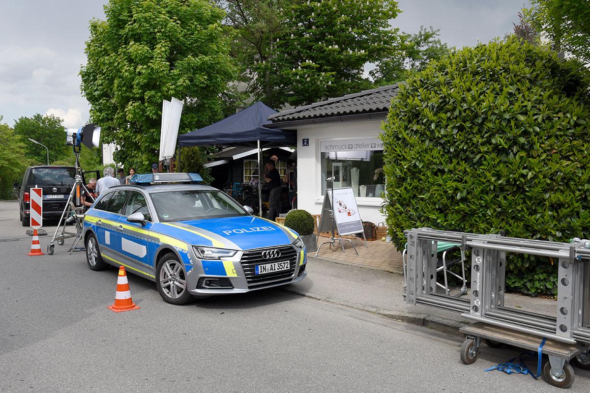 Drehtag Mit Den Rosenheim Cops Schmuckatelier Weiß